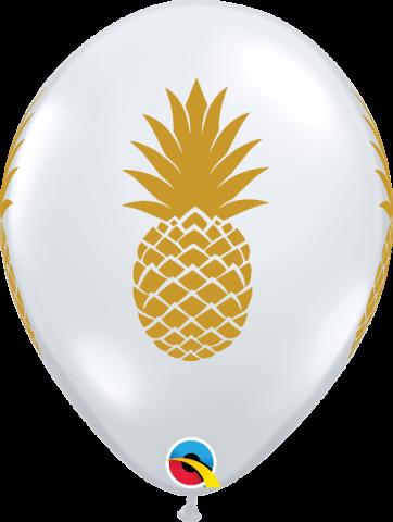 Gummiballonger 25st, Pineapple