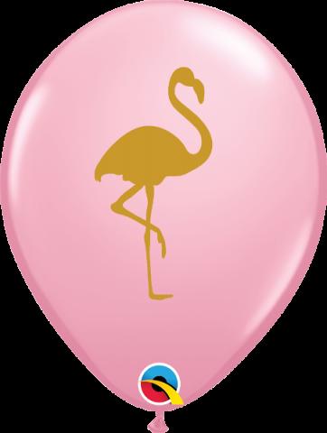 Gummiballonger 25st, Flamingo