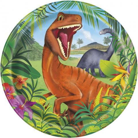 Dinosaurus stora tallrikar