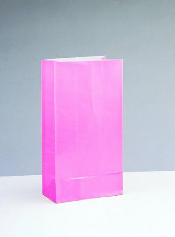 Papperspåse, rosa