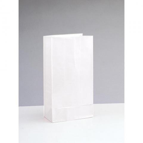 Papperspåse, vit