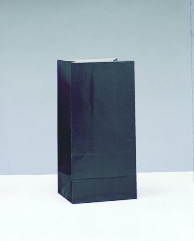 Papperspåse, svart