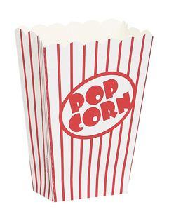 Popcorn-låda, 8st