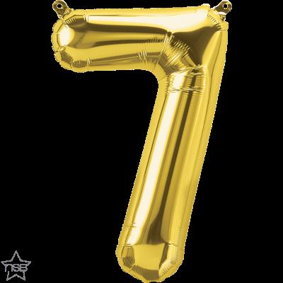 Uppblåsbar ballong, Guld nummer 7