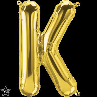 Uppblåsbar ballong, Guld K
