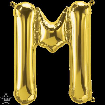 Uppblåsbar ballong, Guld M