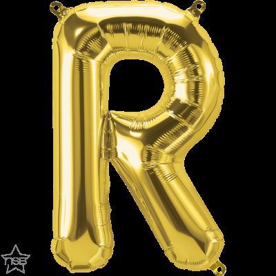Uppblåsbar ballong, Guld R