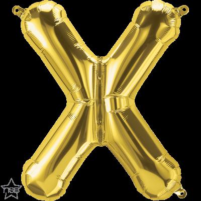 Uppblåsbar ballong, Guld X