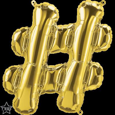 Uppblåsbar ballong, Guld #