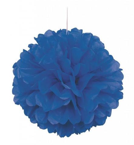 Pompom, blå