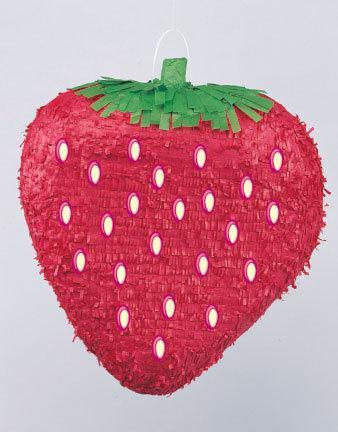 Pinata, jordgubbe