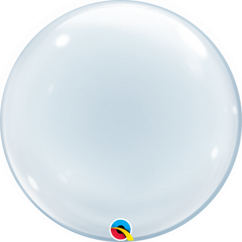 Deco Bubble, genomskinlig 50cm