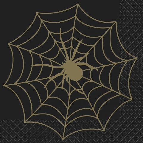 Spindelnät servetter