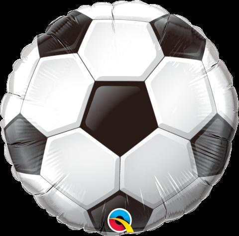 Folieballong, Fotboll