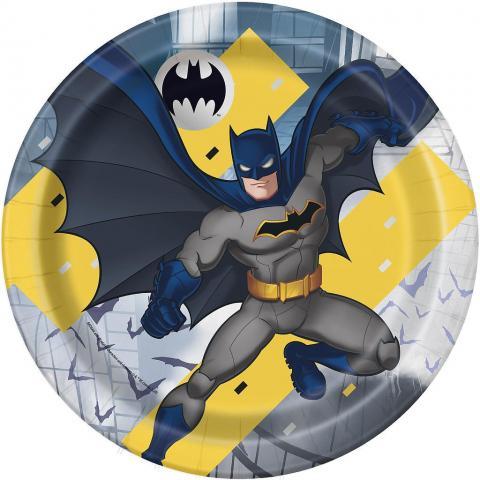 Batman stora tallrikar