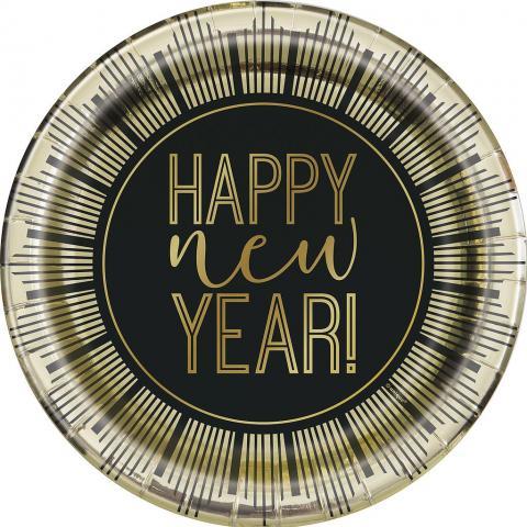 Små tallrikar, Roaring New Year