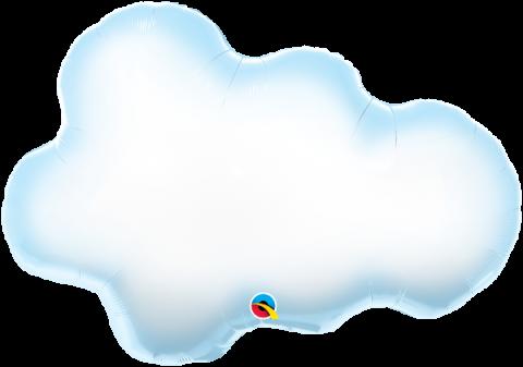 Figurfolieballong, Puffy cloud