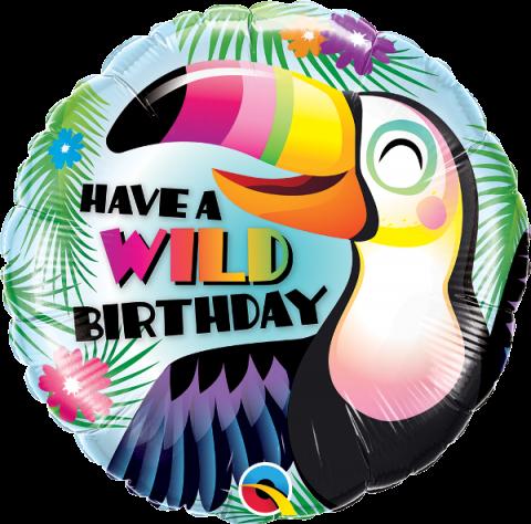 Folieballong, Have a wild birthday