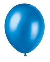 ballonger, blå