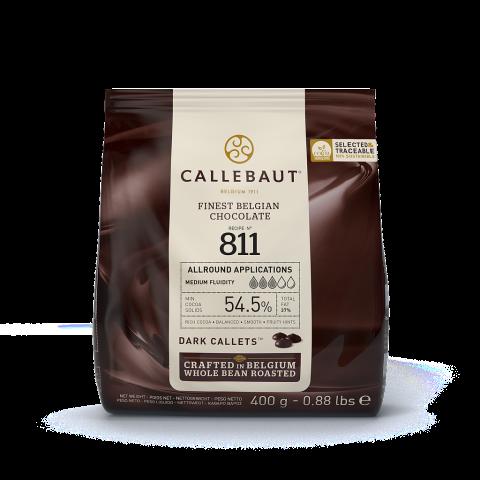 Callebaut N° 811 mörk choklad 400g