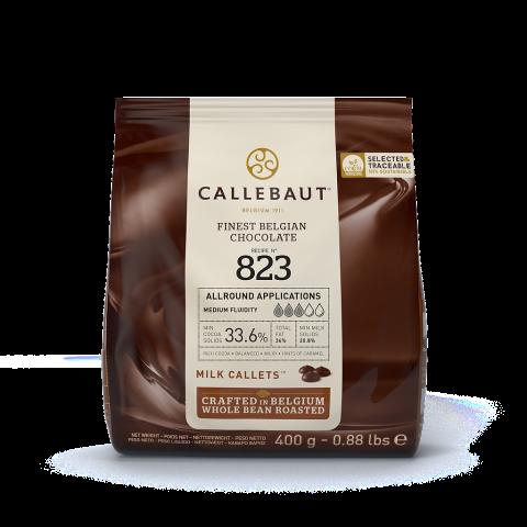 Callebaut N° 823 mjölkchoklad 400g