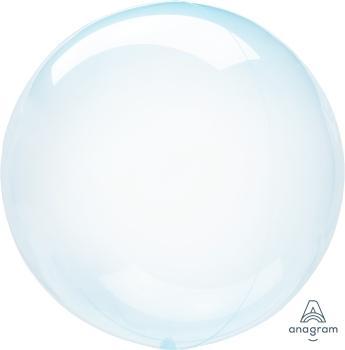 Kristallbubbla, ljusblå
