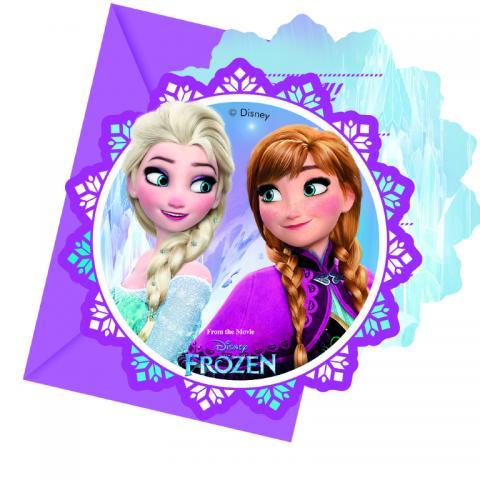Frozen Northern Lights inbjudningskort