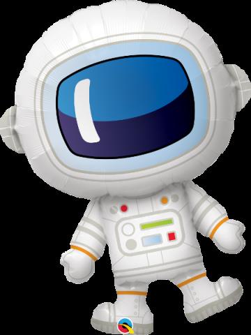 ballong, adorable astronaut