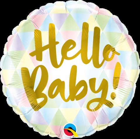 Folieballong, Hello Baby