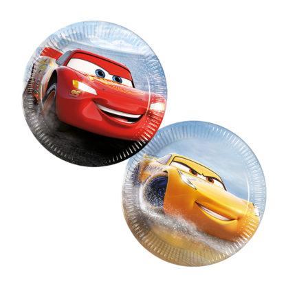Cars små tallrikar