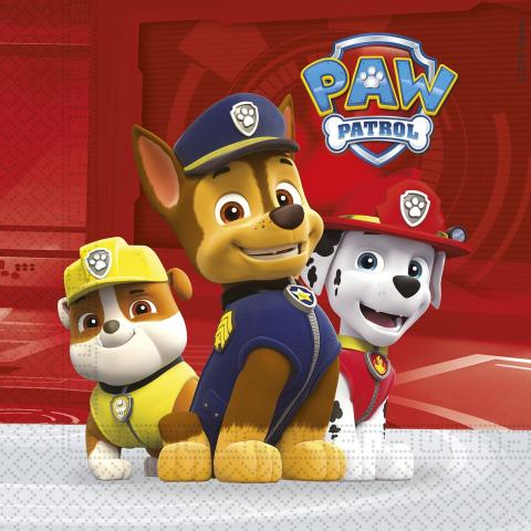 Paw Patrol servetter