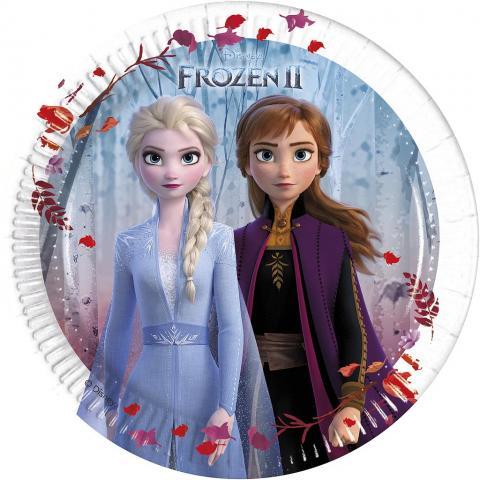Frozen 2 små tallrikar