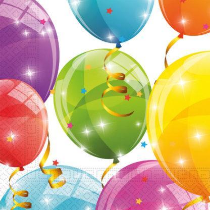 Återvinningsbara stora servetter, ballonger