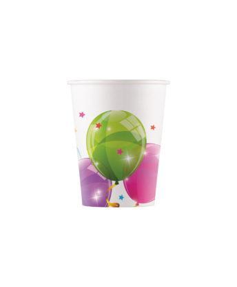 Återvinningsbara muggar, ballonger