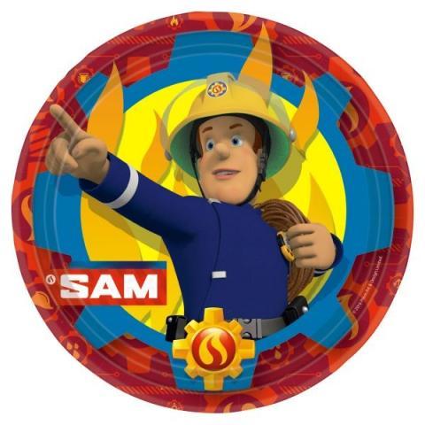 Brandman Sam stora tallrikar