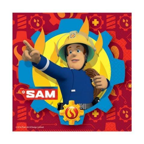 Brandman Sam servetter