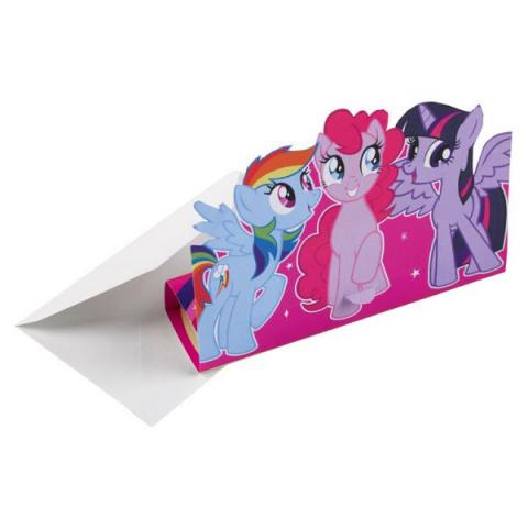 My little pony inbjudningskort