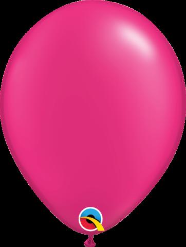 """Gummiballonger 100st, pearl magenta 11"""""""