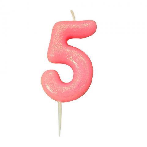 Tårtljus, roséguld 5