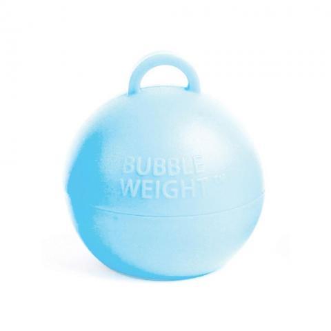 Ballongtyngd, rund ljusblå 35g