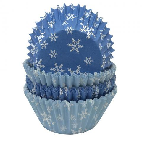 Mini-muffinformar, Snöflinga