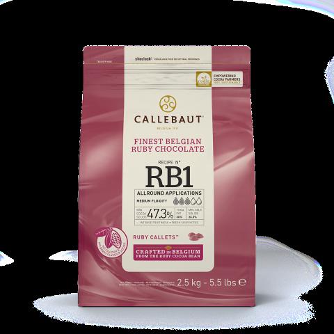 Callebaut N° RB1 Ruby choklad 2,5kg