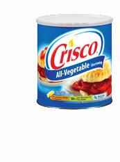Crisco shortening, 450g