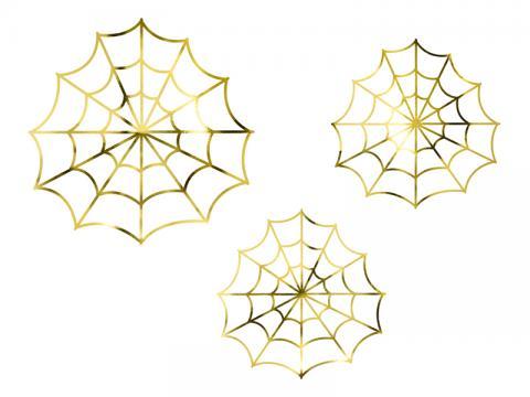 Halloween dekoration, spindelnät