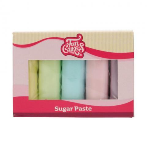 Funcakes sockerpastaset, pasteller