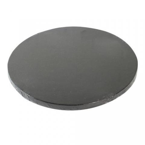 Tjock tårtbricka, 30,5cm svart