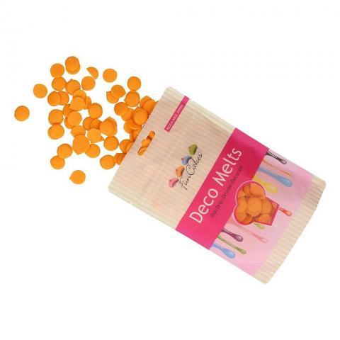 Funcakes decomelts -knappar, orange