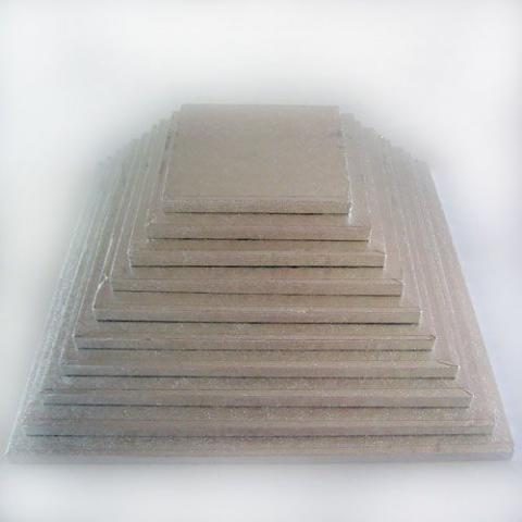 Tjock tårtbricka, kvadrat 30,5cm