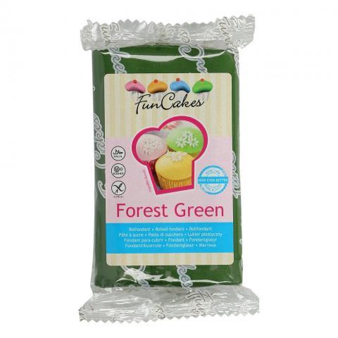 Funcakes sockerpasta, Forest Green