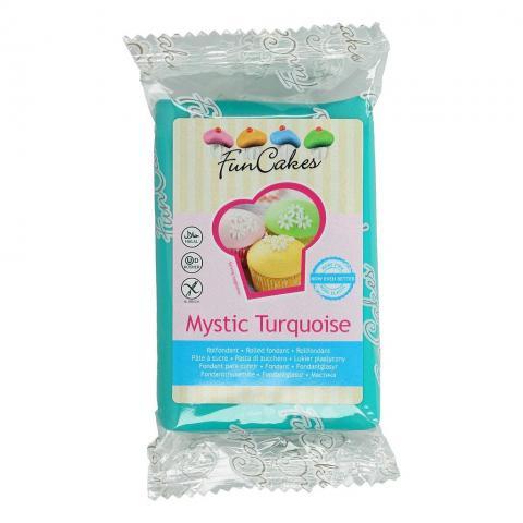 Funcakes sockerpasta, Mystic Turquoise